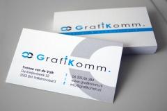 Visitekaartje GrafiKomm.